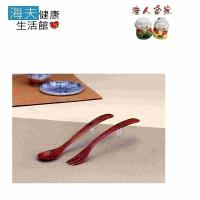 【老人當家 海夫】WIND 箸之助 天然木輔助湯匙、叉子 日本製