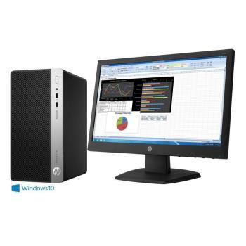 HP 惠普 400G4 MT G3900雙核 H270晶片組 Win10Pro 桌上型電腦+V223 21.5吋 液晶螢幕 超值組