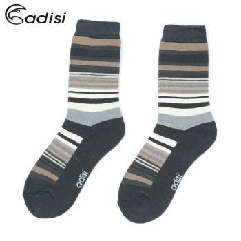 ADISI 條紋保暖對折雪襪AS17044