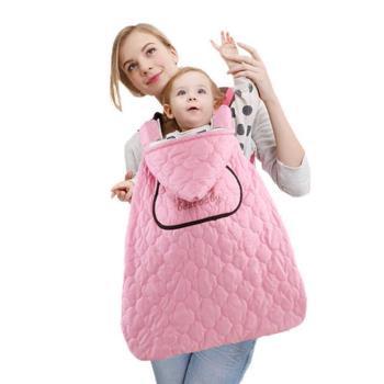 防潑水嬰兒披風蓋被 抱嬰腰凳背巾防風毯 抱毯