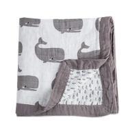 荷蘭Muslintree四層厚款動物印花嬰兒紗布包巾蓋被浴巾