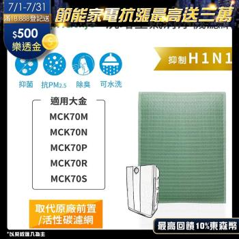 【Original Life】空氣清淨機濾網 適用大金:MCK70M、MCK70N、MCK70P、MCK70R、MCK70S★長效可水洗