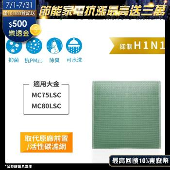 【Original Life】空氣清淨機濾網 適用大金:MC75LSC、MC80LSC★長效可水洗