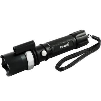 SPARK 充電式28W超亮LED變焦紅激光手電筒 A7005