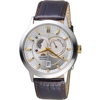 ORIENT東方錶SUNMOON系列日月相腕錶   FET0P004W
