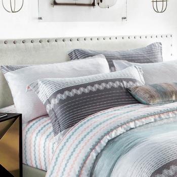 Betrise幽含語 單人採用3M專利吸濕排汗藥劑 天絲吸濕排汗三件式兩用被床包組