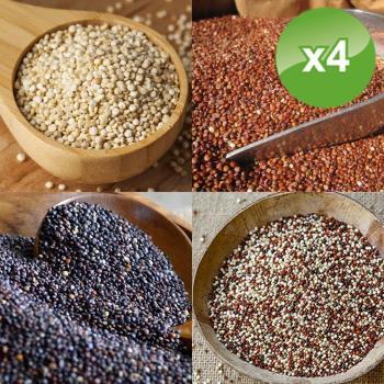 豐禾元物 歐盟認證三色藜麥4包組-口味任選