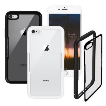 Xmart iPhone 6S / iPhone 6 4.7吋 晶瑩王者鋼化玻璃手機殼