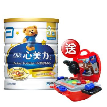 亞培 心美力 3號High Q Plus(新升級)(1700gx2罐)+(贈品)亞培 POLI 救援工具組