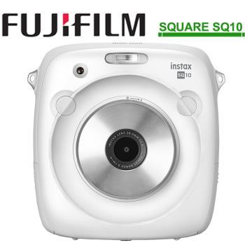 FUJIFILM instax SQUARE SQ10 方形拍立得相機(公司貨)-白色