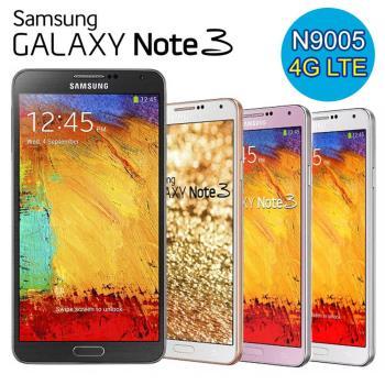 【福利品】Samsung GALAXY Note 3 N9005 16G 4G四核智慧機(加送皮套)