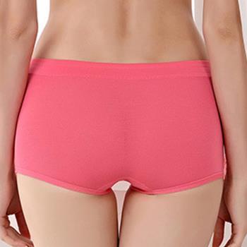 【三件入】莫代爾平口內褲 糖果色中腰四角內褲
