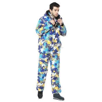 【聖伯納 St. Bonalt】男-時尚保暖防水防風鋪棉褲(8071)