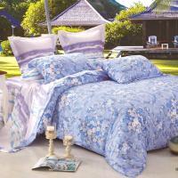 Betrise色調斑斕  雙人100%天絲TENCEL八件式鋪棉兩用被床罩組