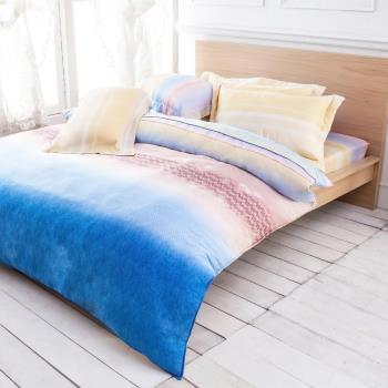 Betrise萊橙 雙人100%天絲TENCEL八件式鋪棉兩用被床罩組
