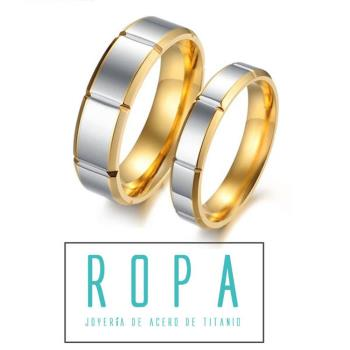 316鈦鋼時尚簡約情侶戒指環 對戒情人節禮物【E07296】