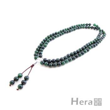 【Hera】 赫拉 翠綠典藏鐵龍生唸珠套組/108顆