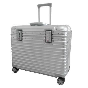 RIMOWA PILOT MULTIWHEEL20吋小型商務旅行箱(銀)