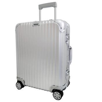 RIMOWA TOPAS MULTIWHEEL 22吋四輪歐規登機旅行箱(銀)