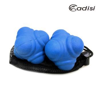 ADISI 六角反應球 AS17059 藍色 (硬度50-55度) (一組兩入) / 城市綠洲 (六角球、反應訓練、手眼協調、鍛鍊握力、運動員)
