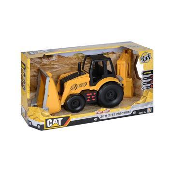 【 CAT - 玩具車 】工作站工程車組 - 反鏟機