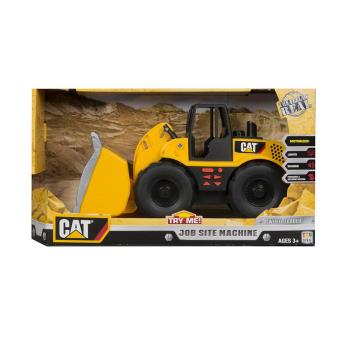 【 CAT - 玩具車 】工作站工程車組 - 裝載機