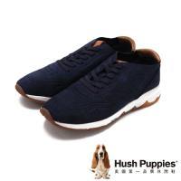 Hush Puppies Garry TS Field 復古風格運動健走 男鞋-深藍(另有褐)