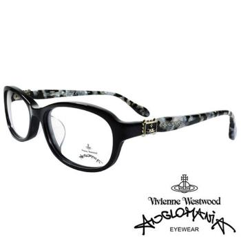 Vivienne Westwood 英國Anglomania復古華麗大理石紋面光學眼鏡(黑白)AN28601