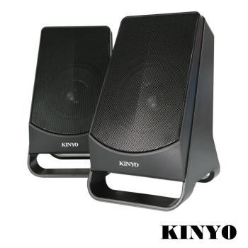KINYO USB供電2.0多媒體音箱US-213