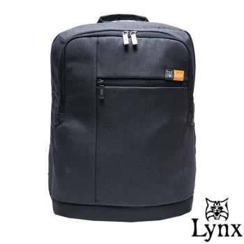 Lynx - 山貓質男防撥水休閒筆電後背包