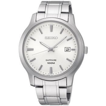 SEIKO 精工CS 簡約大三針女錶(銀/29mm) 7N82-0JK0S SXDG61P1