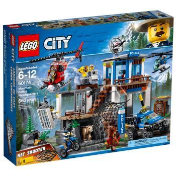 【 樂高積木 LEGO 】《 LT60174 》CITY 城市系列 - 山區警察總部 Mountain Police Headquarters
