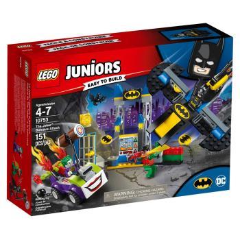 【 樂高積木 LEGO 】《 LT10753 》Junior 初學級系列 - The Joker Batcave Attack