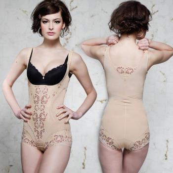 蘇菲娜台灣製420丹曲線哲學V型美背三角束身衣(R605)