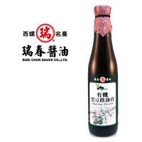 [瑞春] 有機黑豆蔭油膏420毫升12瓶