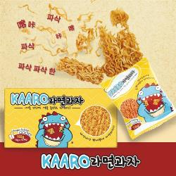 韓國點心麵 KAARO 小恐龍點心麵5盒(16公克/包;12包/盒)