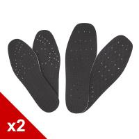糊塗鞋匠 優質鞋材 S11 3mm EVA減碼鞋墊 10雙 (2包)
