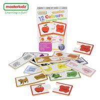 【英國Masterkidz】顏色木製學習拼圖-盒裝