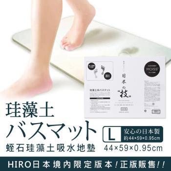 日本HIRO 日本製蛭石珪藻土吸水地墊