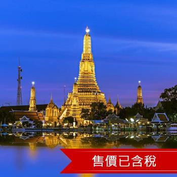 曼谷酷鳥格樂麗雅12酒店自由行5+1日(含稅)旅遊