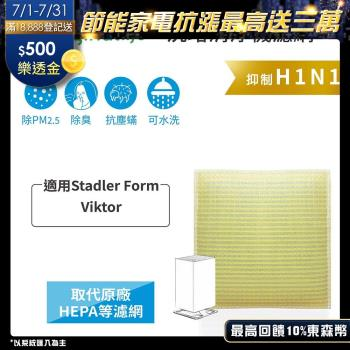 Stadler Form:Viktor  超淨化空氣清淨機濾網 Original Life 長效可水洗