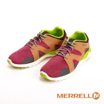 MERRELL 1SIX8 MESH 輕量休閒運動 女鞋-紅