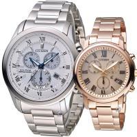 CITIZEN 完美情緣光動能對錶  BL5540-53A FB1432-55X