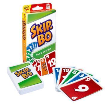 【Mattel桌遊】Skip-Bo 遊戲卡