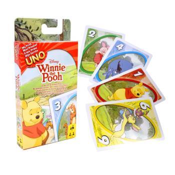 【Mattel桌遊】UNO 遊戲卡 小熊維尼