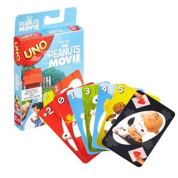 【Mattel桌遊】UNO 遊戲卡 史努比 THE PEANUTS MOVIES