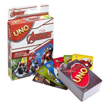 【Mattel桌遊】UNO 遊戲卡 復仇者聯盟