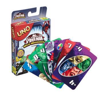 【Mattel桌遊】UNO 遊戲卡 蜘蛛人