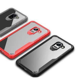 QinD SAMSUNG Galaxy A8(2018) 簡約防摔套