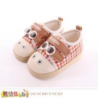 魔法Baby 寶寶止滑鞋 嬰兒學步及外出兩用鞋~sk0285